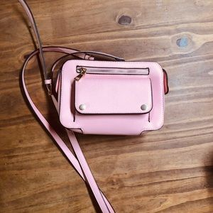 Handbags - BABY PINK CROSSBODY BAG